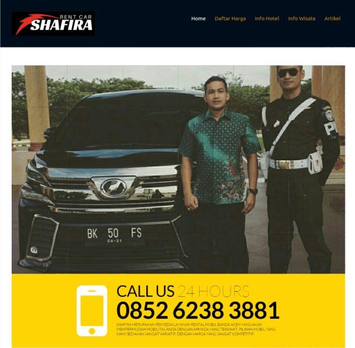 Shafira Rent Car Jasa Rental Mobil Di Banda Aceh