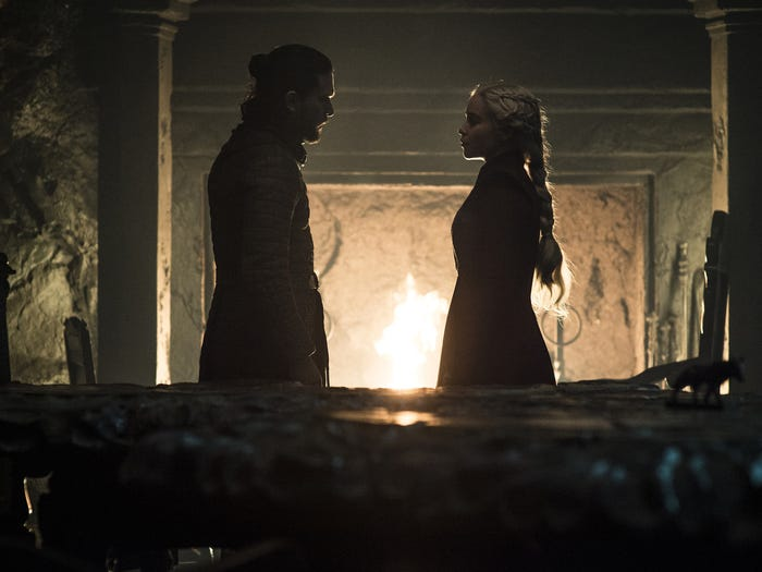 Jon Snow dan Daenerys