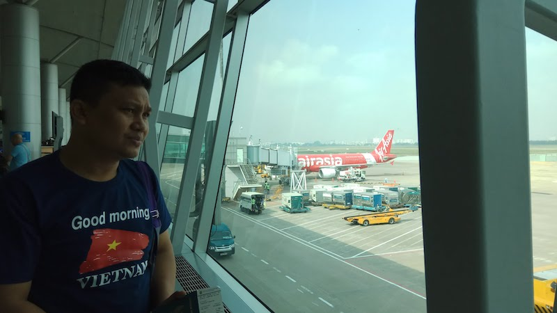 Pose di Ho Chi Minh International Airport