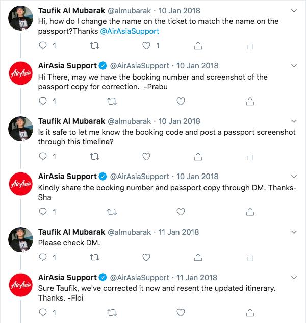 Tweet Air Asia