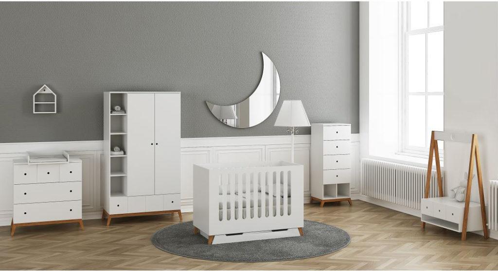 Tempat Tidur Box Bayi Desain Eropa